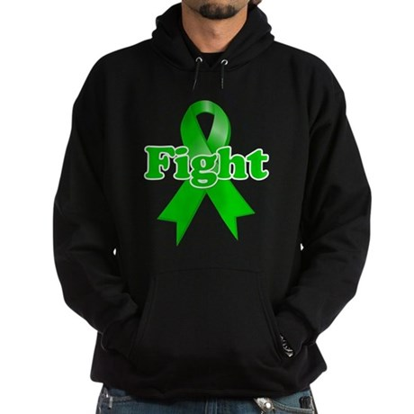 Green Ribbon FIGHT Hoodie (dark)