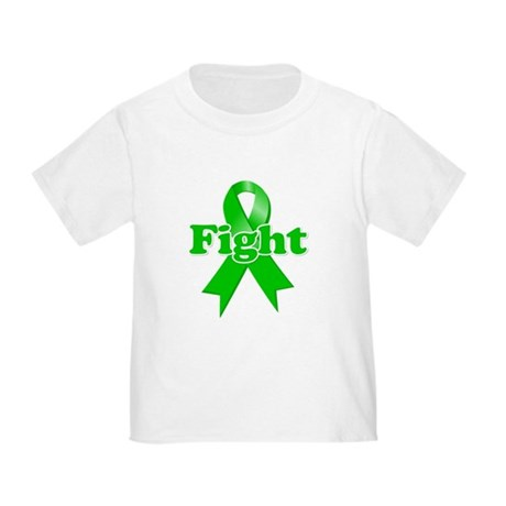 Green Ribbon FIGHT Toddler T-Shirt