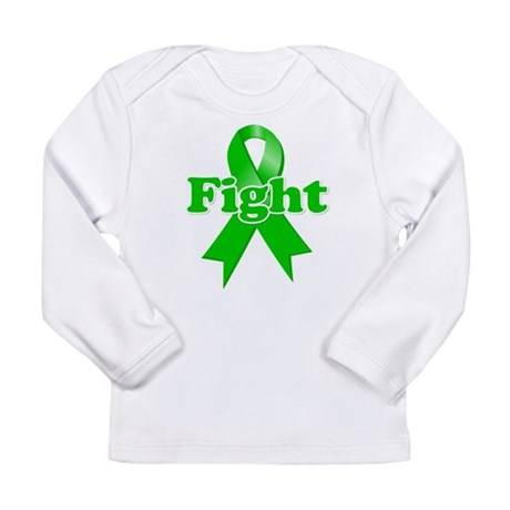 Green Ribbon FIGHT Long Sleeve Infant T-Shirt