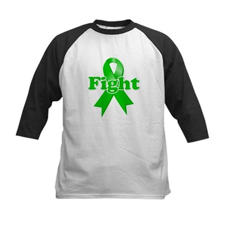 Green Ribbon FIGHT Kids Baseball Jersey