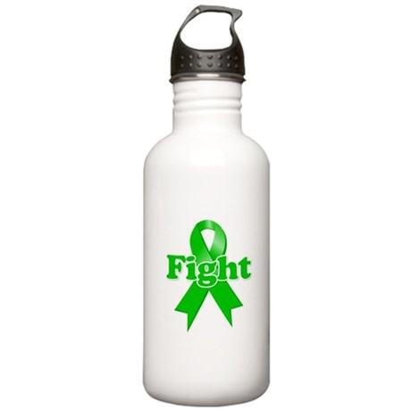 Green Ribbon FIGHT Stainless Water Bottle 1.0L