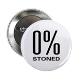 "0% Stoned 2.25"" Button (10 pack)"