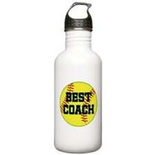 Softball Coach Gift Water Bottle