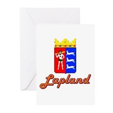Lapland-1 Greeting Cards (Pk of 10)