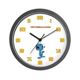 Blue N.E.L.F Wall Clock