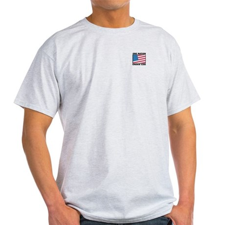 One Nation Ash Grey T-Shirt