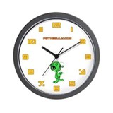 Green N.E.L.F Wall Clock
