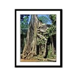 Te Phrom Tree Overgrowth 8 Framed Panel Print