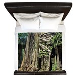 Te Phrom Tree Overgrowth 8 King Duvet