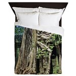 Te Phrom Tree Overgrowth 8 Queen Duvet