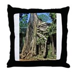 Te Phrom Tree Overgrowth 8 Throw Pillow