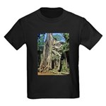 Te Phrom Tree Overgrowth 8 Kids Dark T-Shirt