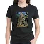 Te Phrom Tree Overgrowth 8 Women's Dark T-Shirt