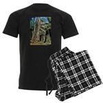 Te Phrom Tree Overgrowth 8 Men's Dark Pajamas