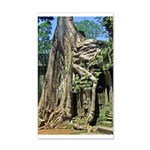 Te Phrom Tree Overgrowth 8 38.5 x 24.5 Wall Peel