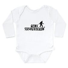 Gone Sasquatchin' Long Sleeve Infant Bodysuit