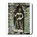 Te Prohm Temple Wall Carvings Mousepad