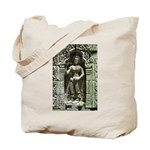 Te Prohm Temple Wall Carvings Tote Bag