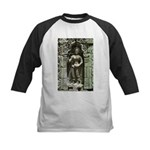 Te Prohm Temple Wall Carvings Kids Baseball Jersey