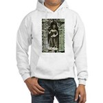 Te Prohm Temple Wall Carvings Hooded Sweatshirt