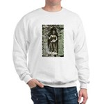 Te Prohm Temple Wall Carvings Sweatshirt