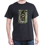 Te Prohm Temple Wall Carvings Dark T-Shirt
