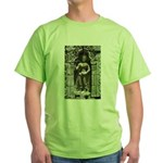 Te Prohm Temple Wall Carvings Green T-Shirt