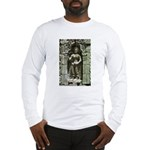 Te Prohm Temple Wall Carvings Long Sleeve T-Shirt