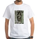 Te Prohm Temple Wall Carvings White T-Shirt