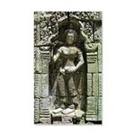 Te Prohm Temple Wall Carvings 22x14 Wall Peel