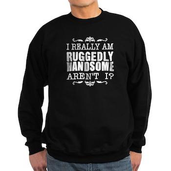 Kiki's Ruggedly Handsome Sweatshirt (dark)