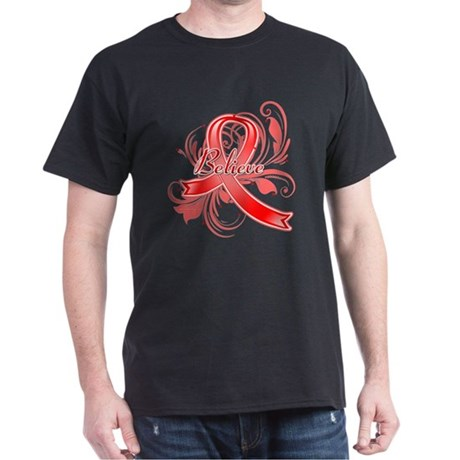 Blood Cancer Believe Dark T-Shirt