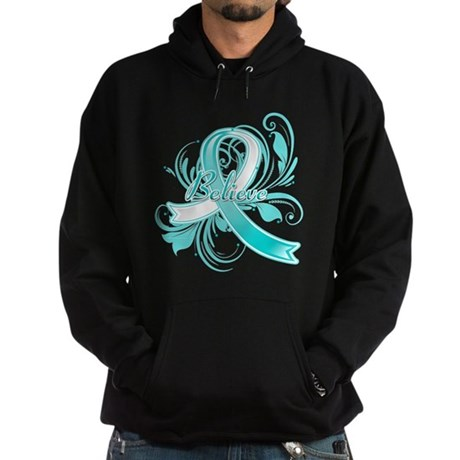 Cervical Cancer Believe Hoodie (dark)