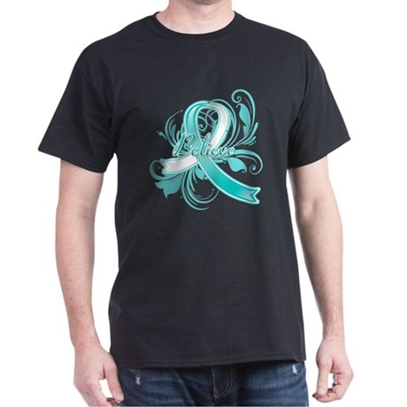 Cervical Cancer Believe Dark T-Shirt