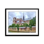 Notre-Dame Cathedral 2 Framed Panel Print