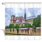 Notre-Dame Cathedral 2 Shower Curtain