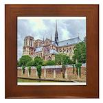 Notre-Dame Cathedral 2 Framed Tile
