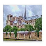 Notre-Dame Cathedral 2 Tile Coaster