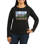 Notre-Dame Cathedral 2 Women's Long Sleeve Dark T-