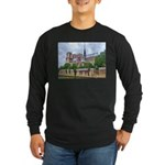 Notre-Dame Cathedral 2 Long Sleeve Dark T-Shirt