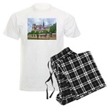 Notre-Dame Cathedral 2 Men's Light Pajamas