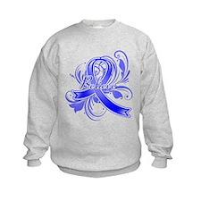 Colon Cancer Believe Sweatshirt