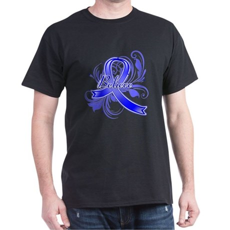 Colon Cancer Believe Dark T-Shirt