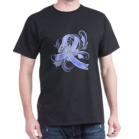 Esophageal Cancer Believe Dark T-Shirt
