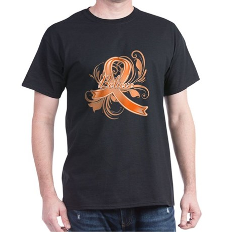 Kidney Cancer Believe Dark T-Shirt