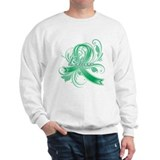 Liver Cancer Believe Sweatshirt
