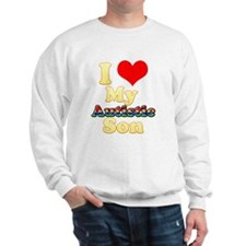I Love My Autistic Son Sweatshirt