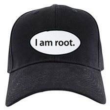 I am root. - Baseball Hat