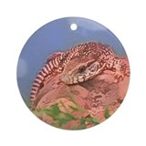 Savanna Monitor Ornament (Round)