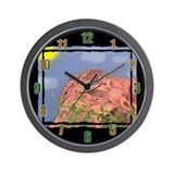 Savanna Monitor Wall Clock